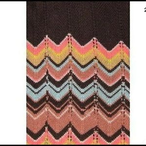 Missoni for Target Accessories - Missoni Women Pointelle Long Knitted Gloves Brown